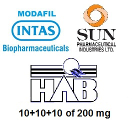 Modafinil trial pack